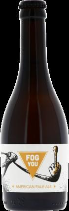 Gros plan sur notre American Pale Ale nommée Fog You. C'est la deuxième recette qui fut élaborée par nos brasseurs. French craft beer !